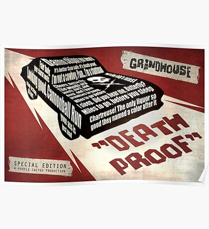 Deathproof redux Poster
