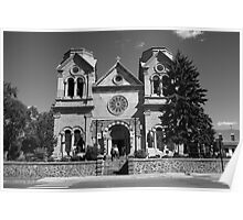 Santa Fe - Basilica of St. Francis of Assisi Poster