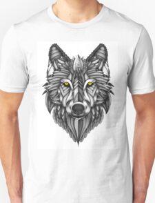 Ornate Wolf Unisex T-Shirt