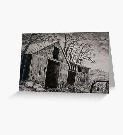 abandoned too. Greeting Card