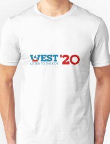 Kanye West for President 2020 Unisex T-Shirt