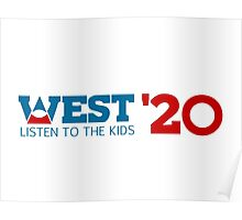 Kanye West for President 2020 Poster