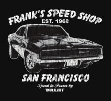 Frank's Speed Shop by superiorgraphix