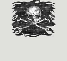 Old Crossbones Skull Pirate Flag Unisex T-Shirt