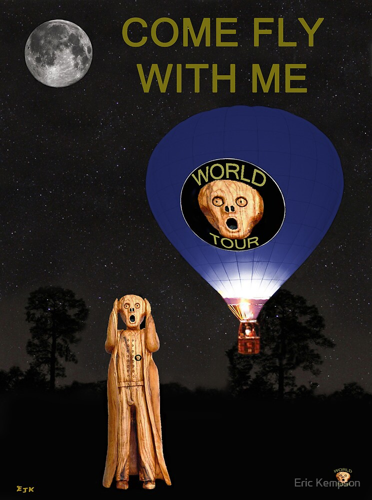 The Scream World Tour  Ballooning Come Fly With Me by Eric Kempson