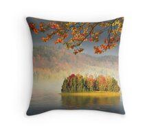 Autumn Island Throw Pillow