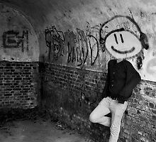 Graffiti Head by Sam Goodman
