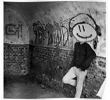 Graffiti Head Poster