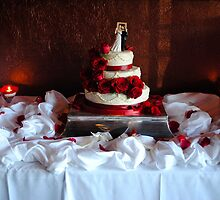 Wedding cake by Erica Sprouse