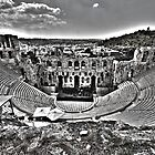 { theatre of herodes b&w} by Brooke Reynolds