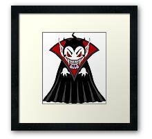 Cute Vampire man Framed Print