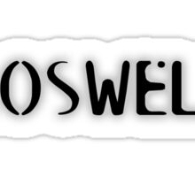 Roswell Sticker