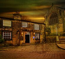 The Black Bull Haworth by Irene  Burdell