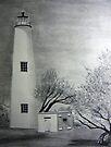 Ocracoke Lighthouse by Mitch Adams