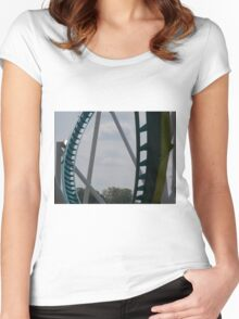 Fury 325 at Carowinds Women's Fitted Scoop T-Shirt