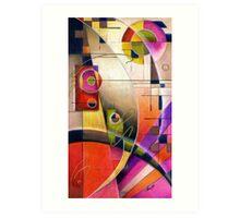 Kandinsky's Cadence  Art Print