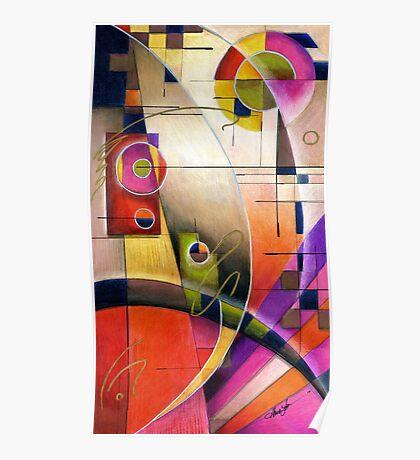Kandinsky's Cadence  Poster