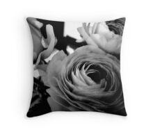 Ranunculus (Persian Buttercup) Throw Pillow
