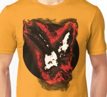 Red and white phoenix flying away from blackhole Unisex T-Shirt