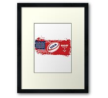 USA Rugby World Cup Framed Print