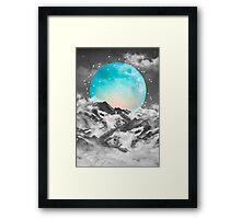 It Seemed To Chase the Darkness Away Framed Print