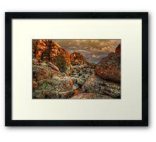 Rock River Framed Print