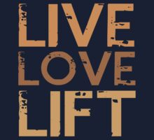 LIFT LOVE LIFT Kids Tee
