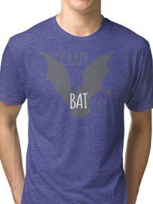 Crazy Bat Guy Tri-blend T-Shirt
