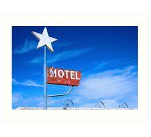 Old Motel Art Print