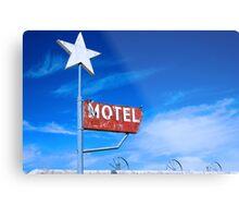 Old Motel Metal Print