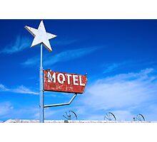 Old Motel Photographic Print