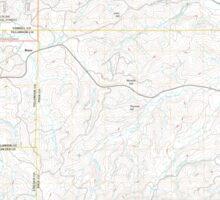 USGS Topo Map Oregon Midway 20110810 TM Sticker