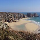 Porthcurno on a Spring Day by Charlotte Stevens