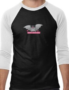 BATTY about you with cute love hearts Men's Baseball ¾ T-Shirt