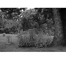 The Precious Stone ~ Graveyard Stone Photographic Print
