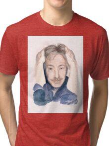 Alan Rickman - Fan Art Tri-blend T-Shirt