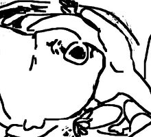 mother and child -(120311f)- mouse drawn/ms paint by paulramnora