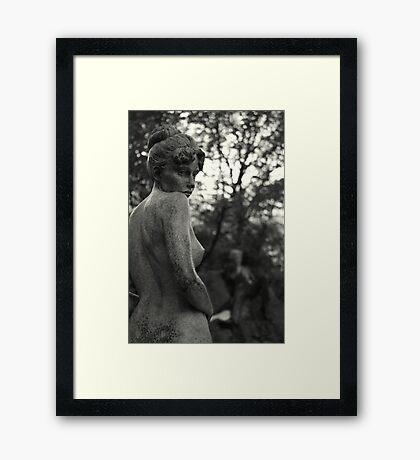 Naked Dublin girl Framed Print