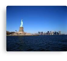 Statue of liberty Canvas Print
