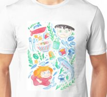 The Goldfish Girl Unisex T-Shirt