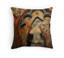 Mary at Oxford Cathedral Throw Pillow