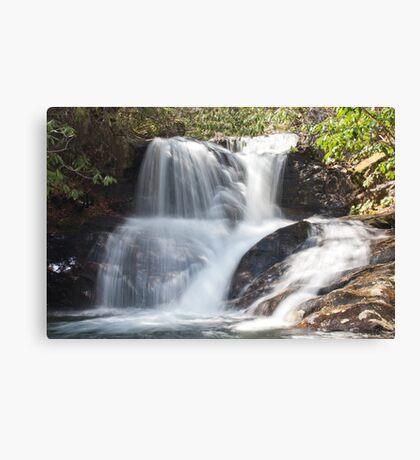 White Oak Creek Falls Canvas Print