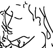 mother and child -(120311g)- mouse drawn/ms paint by paulramnora