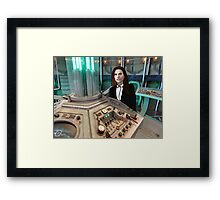 """I want to BE the Doctor"" Framed Print"
