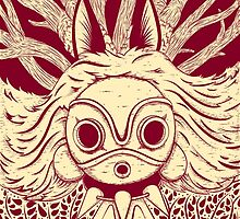 Princess Mononoke by andbloom