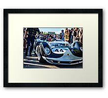 John Bladon's 1965 Maclaren-Chevrolet MIA puts in an appearance at Goodwood Revival Framed Print