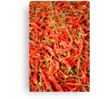Red Chili Canvas Print