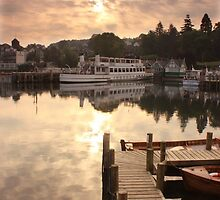 sunrise Bowness on Windermere by Malcolm Marshall