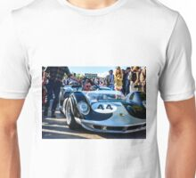 John Bladon's 1965 Maclaren-Chevrolet MIA puts in an appearance at Goodwood Revival Unisex T-Shirt