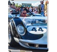 John Bladon's 1965 Maclaren-Chevrolet MIA puts in an appearance at Goodwood Revival iPad Case/Skin